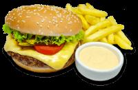 Hambúrguer Classic com Fritas