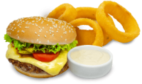 Burger Classic+Anéis de Cebola