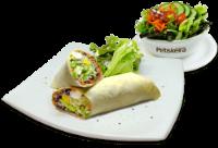 Wrap Italian+Saladinha
