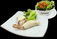 Wrap Frango + Saladinha
