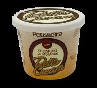 Sorvete Cheesecake Morango