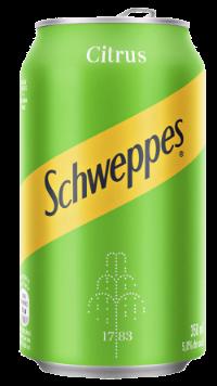 Schweppes Citrus -Lata