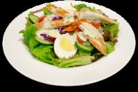 Mix Salad com Iscas Grelhadas