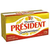 Manteiga Extra Président S/Sal